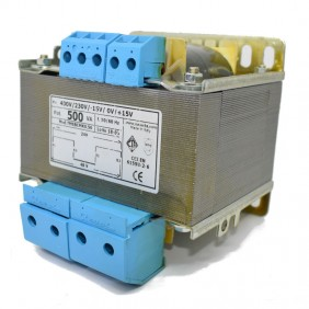 Trasformatore CTA Bifilari di isolamento 500VA 230-400/24+24 TMSBCMK0.50