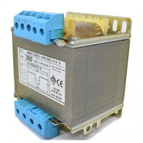 Transformer CTA two-Wire isolation 300VA 230-400/24+24 TMSBCMK0.30