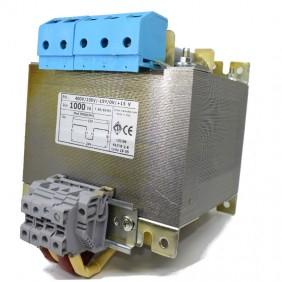Trasformatore CTA Bifilari di sicurezza 1000VA 230-400/12+12 TMSACMK1