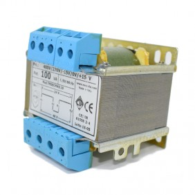 Transformador de la CTA de dos cables de aislamiento de 100VA 230-400/24+24 TMSBCMK0.10