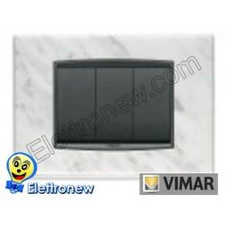 VIMAR EIKON- PLACCA 3 MODULI 20653.53