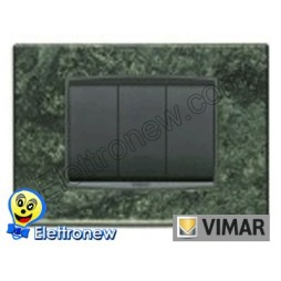 VIMAR EIKON- PLACCA 3 MODULI 20653.54