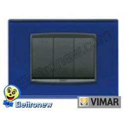 VIMAR EIKON- PLACCA 3 MODULI 20653.74