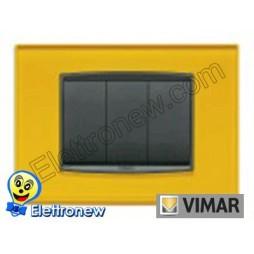 VIMAR EIKON- PLACCA 3 MODULI 20653.75