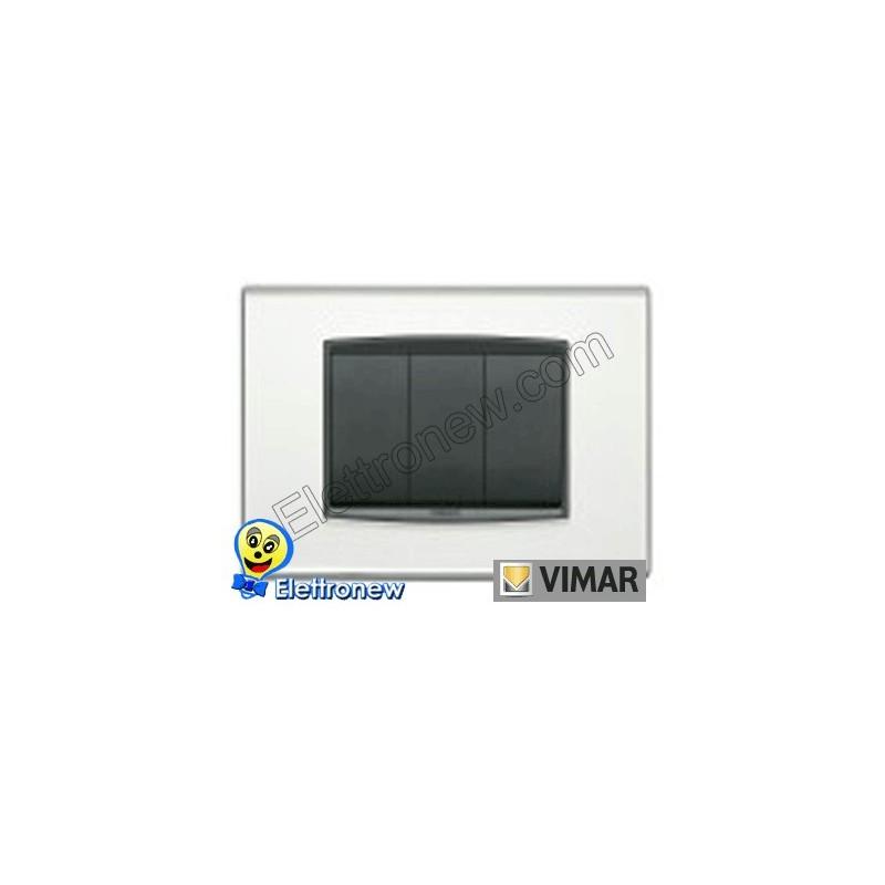 VIMAR EIKON- PLACCA 3 MODULI 20653.81