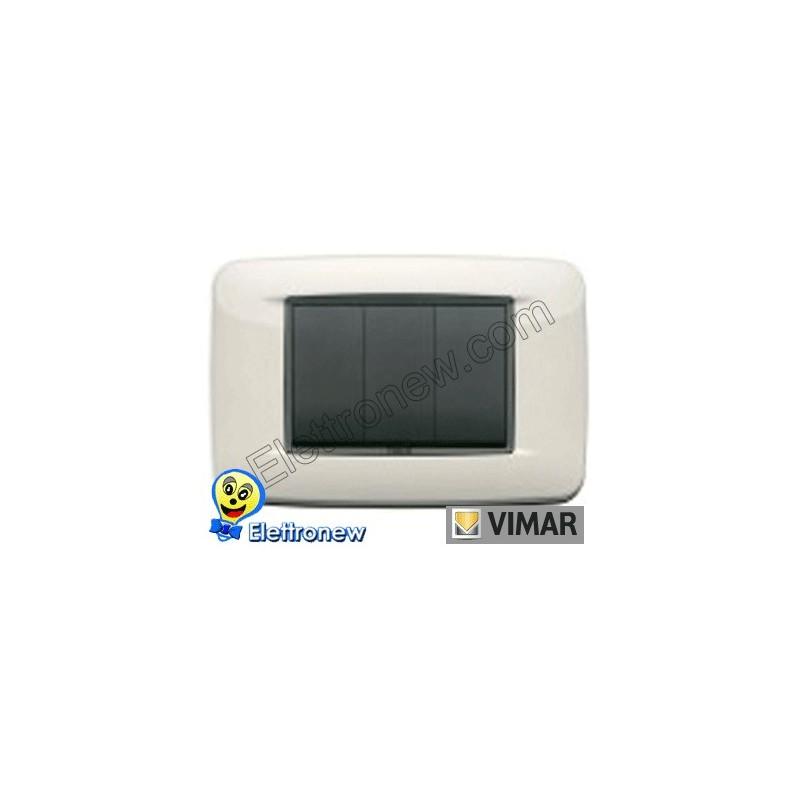 VIMAR EIKON- PLACCA 3 MODULI 20683.03