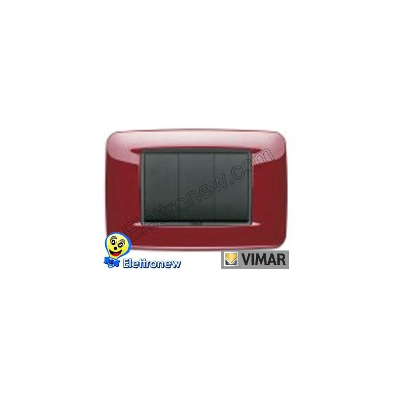 VIMAR EIKON- PLACCA 3 MODULI 20683.04