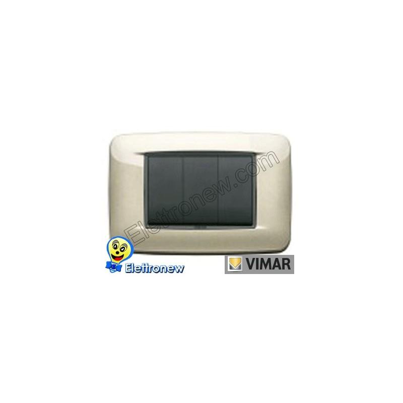 VIMAR EIKON- PLACCA 3 MODULI 20683.07
