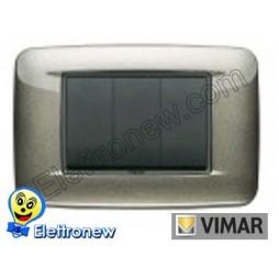 VIMAR EIKON- PLACCA 3 MODULI 20683.08