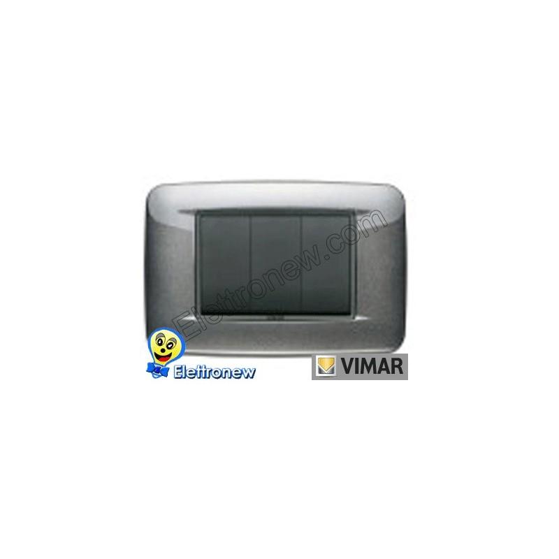 VIMAR EIKON- PLACCA 3 MODULI 20683.09