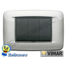 VIMAR EIKON- PLACCA 3 MODULI 20683.10