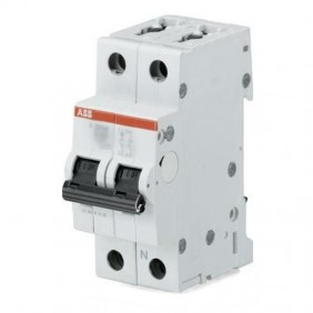 Interruttore ABB Magnetotermico Differenziale 1P+N 6A 30mA Tipo AC 6kA 2 Moduli