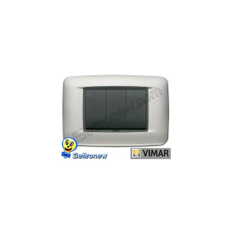 VIMAR EIKON- PLACCA 3 MODULI 20683.13