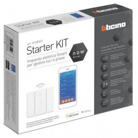Starter Kit Bticino Living Now automatización del hogar K1000KIT
