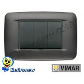 VIMAR EIKON- PLACCA 3 MODULI 20683.15