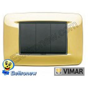 VIMAR EIKON- PLACCA 3 MODULI 20683.24
