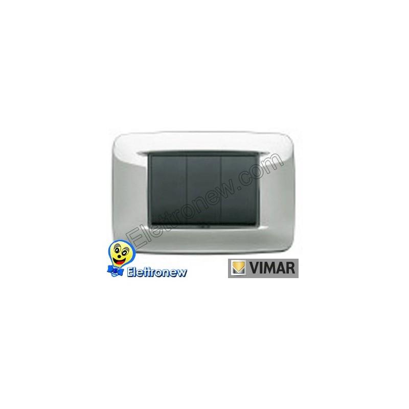 VIMAR EIKON- PLACCA 3 MODULI 20683.25