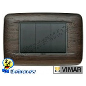 VIMAR EIKON- PLACCA 3 MODULI 20683.31