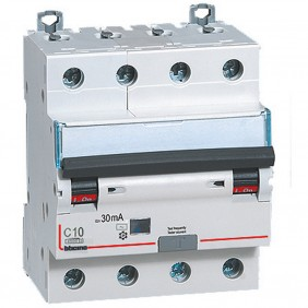 Interruttore Magnetotermico Differenziale Bticino 4P 10A 30mA Tipo AC 4,5kA 4 Moduli