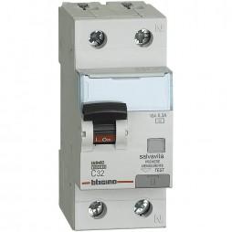 Interruttore Bticino Magnetotermico Differenziale  1P+N 32A 300mA Tipo AC 6kA 2 Moduli