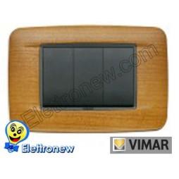 VIMAR EIKON- PLACCA 3 MODULI 20683.36