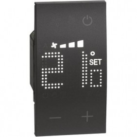 Thermostat Bticino Living Now Black KG4691