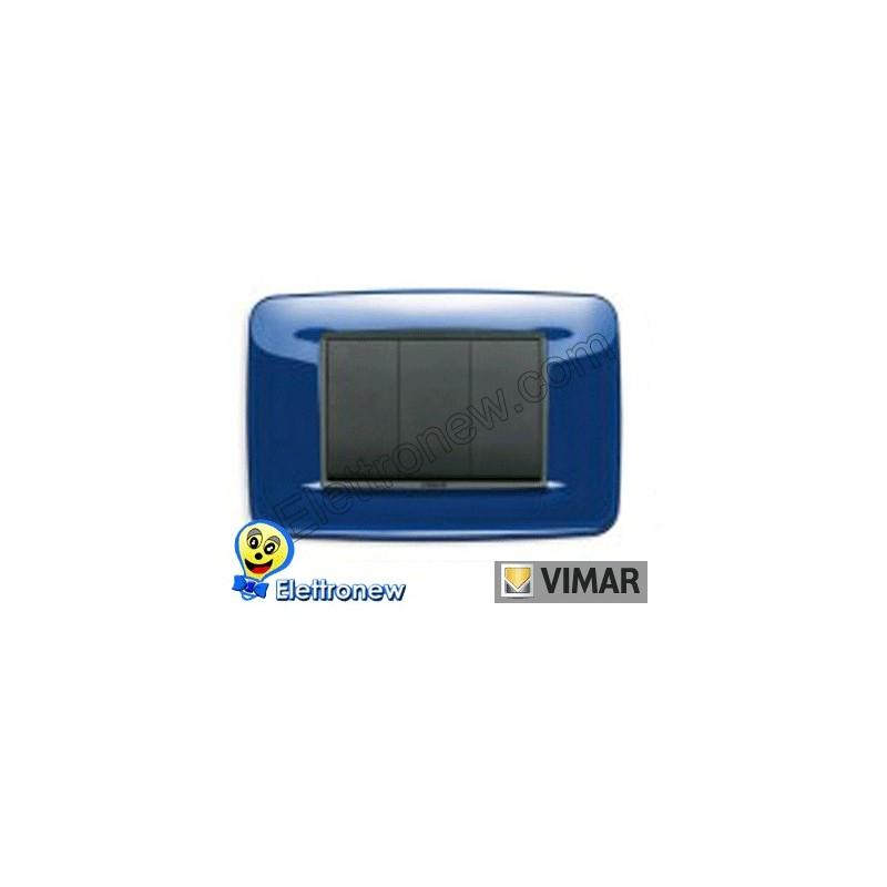 VIMAR EIKON- PLACCA 3 MODULI 20683.74