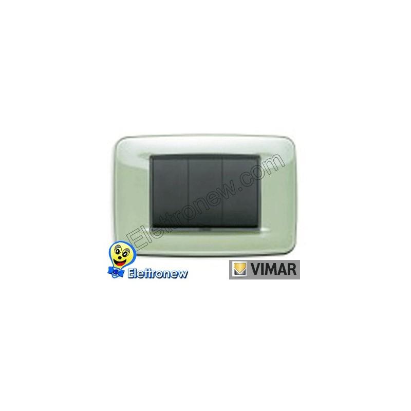 VIMAR EIKON- PLACCA 3 MODULI 20683.76