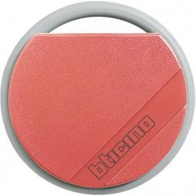 Chiave transponder Bticino rosso per antifurti e citofoni 348201
