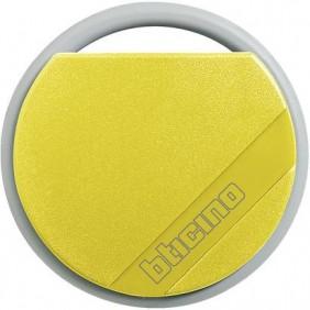 Chiave transponder Bticino gialla per antifurti e citofoni 348206