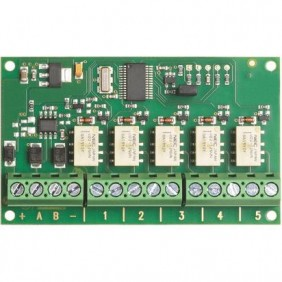 Modulo di espansione relè Bticino 5 uscite programmabili 1A 4235