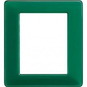 Placca Bticino Matix 3+3 Moduli colors smeraldo AM4826CVS
