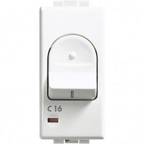 Interruttore magnetotermico Bticino Luna 1P+N 16A 3kA C4301/16