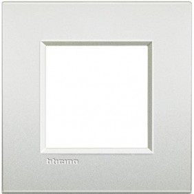 BTICINO LIVINGLIGHT PLACCA AIR 2 MODULI LNC4802PR