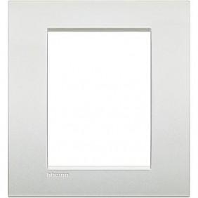 Placca Bticino LivingLight AIR 3+3 posti bianco perla LNC4826PR