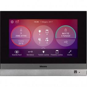 Home Touch 7 Bticino per la gestione di tutte le funzioni MyHOME_Up 3488
