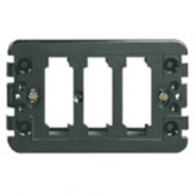 Support Vimar 8000 series 1-2-3 holes for...