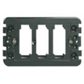 Supporto Vimar serie 8000 1-2-3 Fori per scatola rettangolare 08531