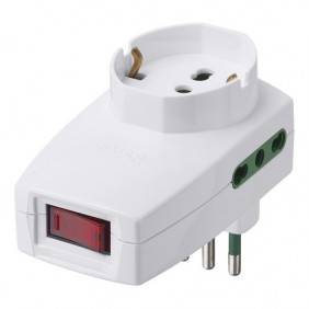 Adapter Vimar staggered vertical...