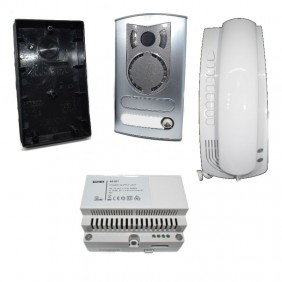 KIT Interphone Vimar Petrarch single-family 2-wires Plus 6209/M