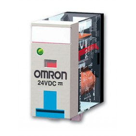 Mini Relè Omron 2 Scambi 24DC G2R2SND24DCSNEW-
