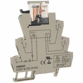 Relè Slim Omron 24AC/DC per usi generali G2RVSL700-225270