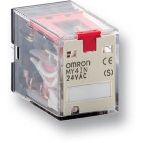 Relè Contatti Omron 110/120VAC LED...
