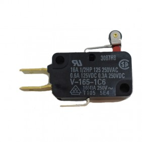 Limit switch Omron Micro 16A with the lever and the wheel V1651C6R-1480430