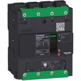 Interruttore automatico Schneider scatolato 100A NSXM 16KA 4P LV426117