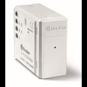 Dimmer Incasso Finder YESLY 200W Bluetooth Bianco 15718230B200