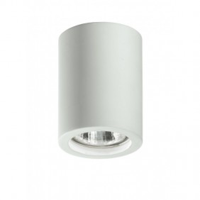 White spotlight Fan Europe with attack GU10 ALL-SPACE-S-R1