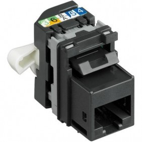 Socket Connector-Bticino-RJ45 keystone CAT5E UTP C9079KC5E