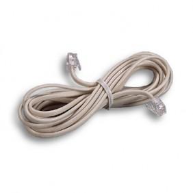 Prolunga cavo telefonica Fanton 3 Metri  4 Conduttori 6/4 bianca 21280