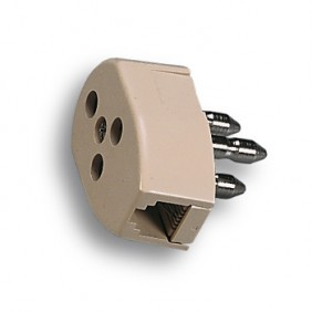Socket and plug the telephone Fanton Plug 6/2...
